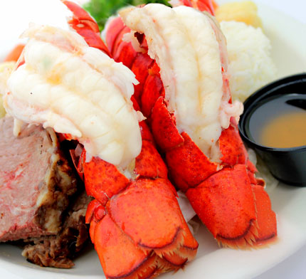 ALL YOU CAN EAT PRIME RIB & LOBSTER