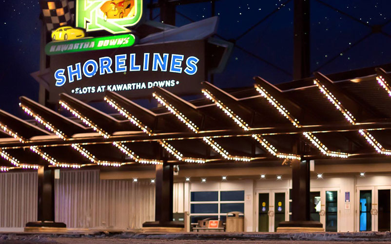 Shorelines Slots at Kawartha Downs exterior